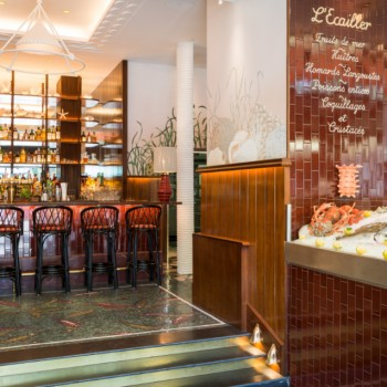 La légendaire Brasserie La Lorraine invite le chef Christopher Coutanceau**