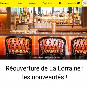 Réouverture de La Lorraine : les nouveautés !